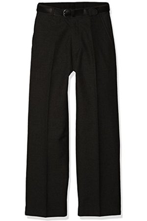 Trutex Boy's Flat Front Trousers with Belt