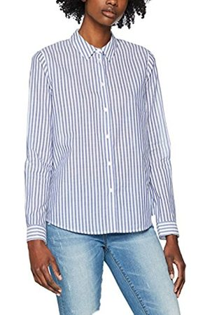 Scotch&Soda Maison Women's Slim Fit Basic Button up Shirt In Stripes and Solid Blouse