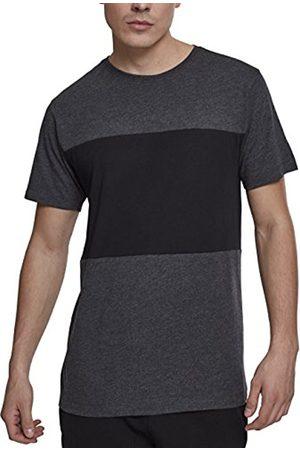 Urban classics Men's Contrast Panel Tee T-Shirt