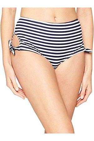 New Look Women's Textured Stripe Bikini Bottoms, 16