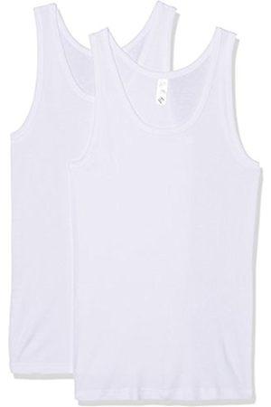 Nur Der Men's Unterhemd Classic 100% Cotton DP Vest