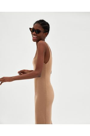 Zara BASIC PONTE DI ROMA DRESS - Available in more colours