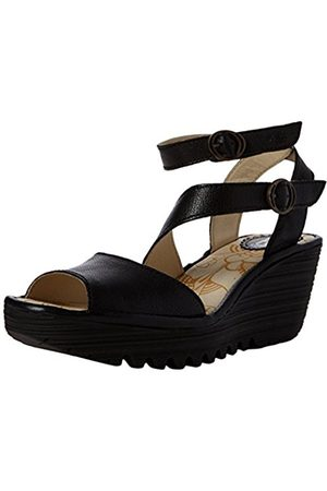 Fly London Women's Yisk837Fly Ankle Strap Sandals