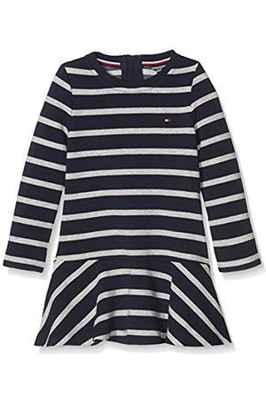 Tommy Hilfiger Girl's Ame Stripe Hwk Dress L/S Long Sleeve Dress