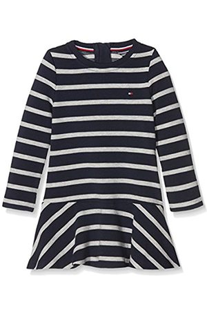 Tommy Hilfiger Girls Dresses - Girl's AME STRIPE HWK DRESS L/S Long Sleeve Dress