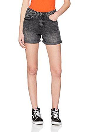 Noisy May Women Shorts - Women's Nmbe Liv Straight Denim BLC Noos Short