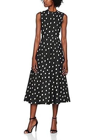 LK BENNETT L.K. Bennett Women's MARLINA Midi Sleeveless Party Dress