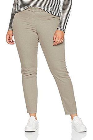 Ulla Popken Women's Jeggings Overdyed MIT Gürtelschlaufen Skinny Jeans