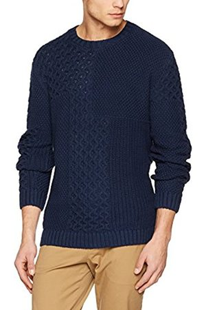 Tommy Hilfiger Men's Tjm Cntrst Stch CN Sweater L/s 17 Jumper