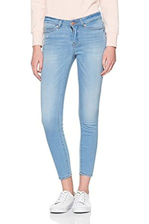 Noisy May Women's NMLUCY NW S.s. Az013 Ankle Noos Slim Jeans