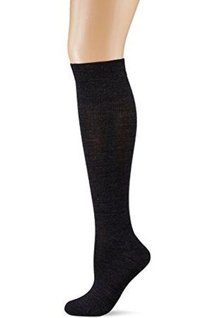 Kunert Women's Soft Wool Cotton Knee-High Socks, 100 Den