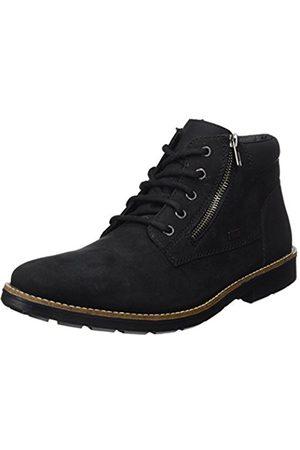 Rieker Men's 35331 Classic Boots, Schwarz 01