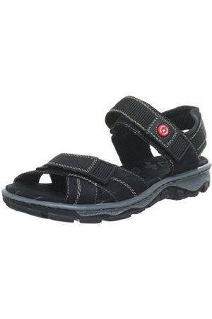 Rieker 68851 Sandals Womens Schwarz (schwarz/schwarz 00) Size: 6.5 UK / 40 EU