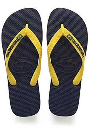 Havaianas Brasil Logo, Unisex Kids Flip Flops