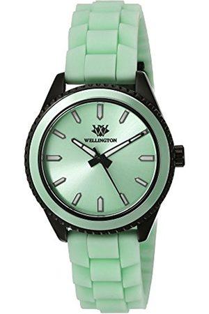 Daniel Wellington Women Watches - Karamea Women's Quartz Watch with Dial Analogue Display and Silicone Strap WN508-690A