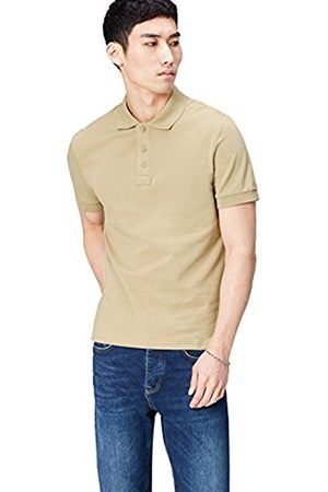 FIND Men Short Sleeve - Men's Casual Solid Polo Shirt