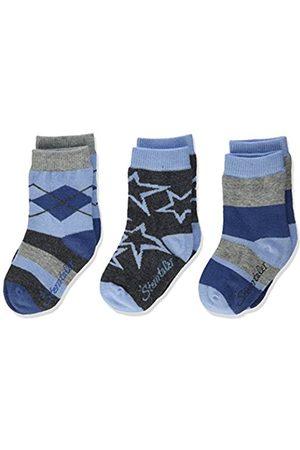 Sterntaler Baby Boys' Söckchen 3er Pack Sterne Socks