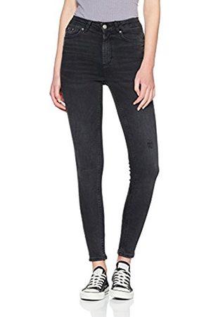 Pieces Women Skinny - Women's Pchighfive delly B226 Skn Jns Blk/Noos Skinny Jeans