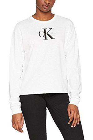 Calvin Klein Women's T-Core Loose Fit Lwk L/s True Icon Long Sleeve Top