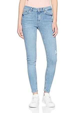 Pieces Women's Pcfive delly B182 MW Skn Jns Lbld/Noos Skinny Jeans