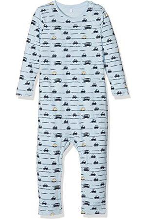 Name it Baby Boys' Nbmermario LS Suit Footies