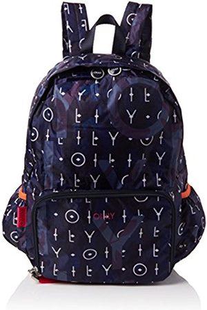 Oilily Enjoy Backpack Lvz, Women's Backpack, Blau (Dark )