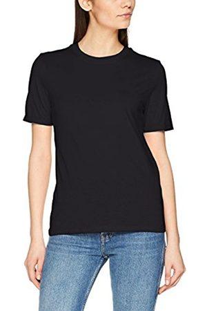Pieces Women's Pcria SS Fold up Tee Noos T-Shirt