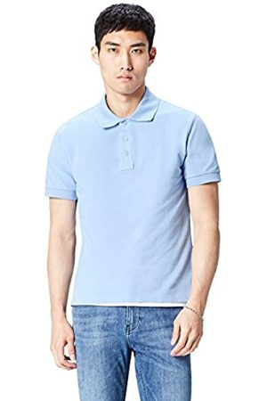 FIND Men's Casual Solid Polo Shirt