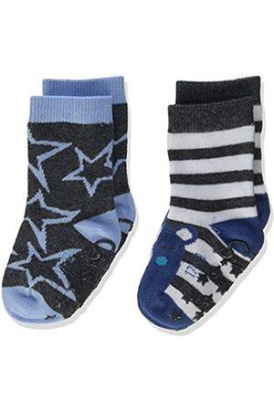 Sterntaler Baby Boys' Abs-Söckchen DP Bär + Sterne Socks