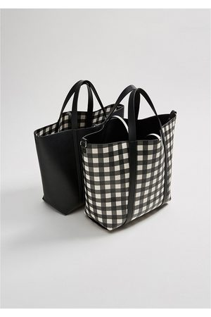 649dd9a80b8b Black Reversible tote Bags for Women