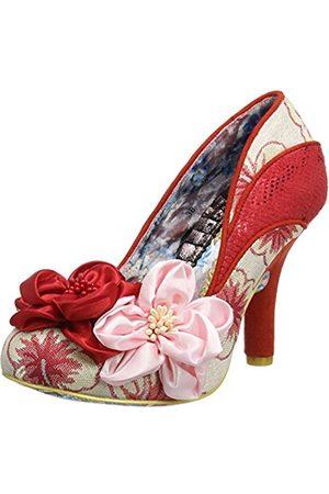 Irregular Choice Women's Peach Melba Closed-Toe Heels
