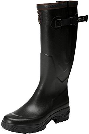 Aigle Unisex-Adults PARCOURS 2 VARIO Wellington Boots Hunting Shoes (Noir 9)