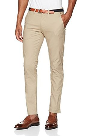 Selected Homme Men's Shhyard Sand STRUC Slim Pants Trouser
