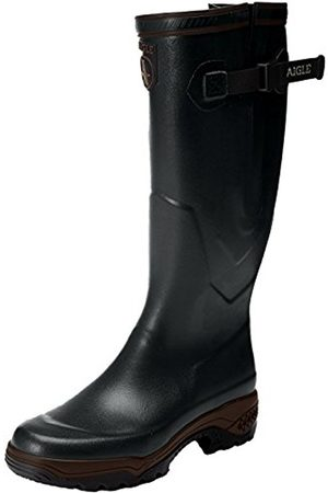 Aigle Unisex-Adults PARCOURS 2 VARIO Wellington Boots Hunting Shoes, Green (Bronze 8)