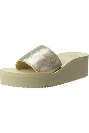 Womens Poolwedge Bow Platform Sandals Flip*Flop 57t1Cr