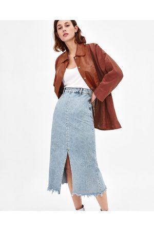 d7c980bbbe6d Zara summer women s midi skirts