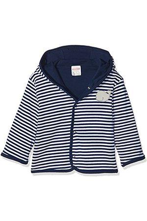 Schnizler Jackets - Unisex Baby Jäckchen wal, Marine geringelt, Oeko-TEX Standard 100 Jacket, (Marine/Weiß)