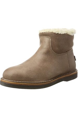 Shabbies Amsterdam Women's Slip Boots (Olive )