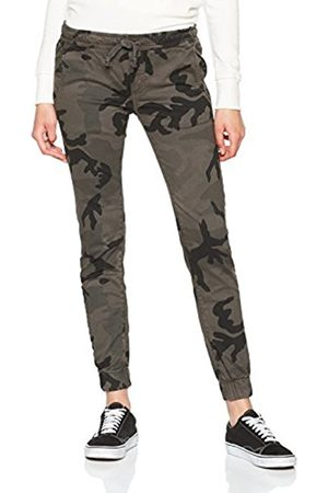 Urban classics Women Trousers - Women's Ladies Camo Jogging Sports Pants