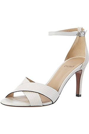Oxitaly Women Sandals - Women's Safiana 113 Open Toe Sandals White Size: 10