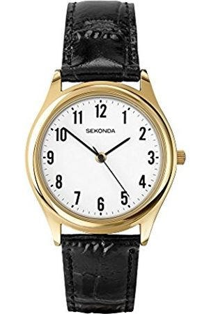 Sekonda Men's Quartz Watch with Dial Analogue Display and Leather Strap 3623.27