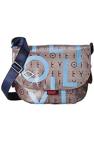 Oilily Lori Shoulderbag Mhf, Women's Cross-Body Bag, Grau