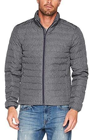 Esprit Collection Men's 087eo2g006 Plain Quilted Jacket, Gray (Hell Grau E400)