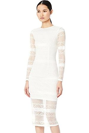 TRUTH & FABLE Women's Lace Bodycon Party Dress