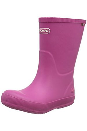 Viking Unisex Kids' Classic Indie Unlined Rubber Boots Long Shaft Boots & Bootees Size: 1 UK