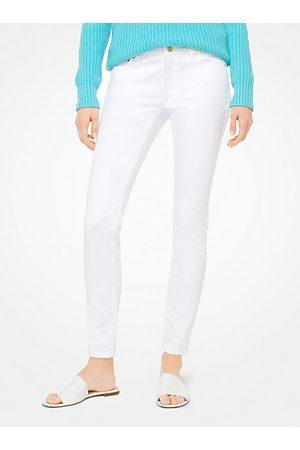 Michael Kors Women Skinny - MK Selma Stretch-Cotton Skinny Jeans - - Michael Kors