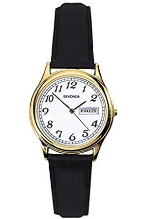 Sekonda Women's Quartz Watch with Dial Analogue Display and Leather Strap 4925.27