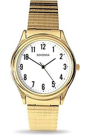 Sekonda Men Watches - Model 3752.27 Gents Gold Plated Analogue Expander Watch
