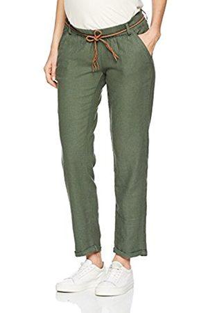 Mama Licious Women's Mlbeach Belt Woven Pant Maternity Trousers