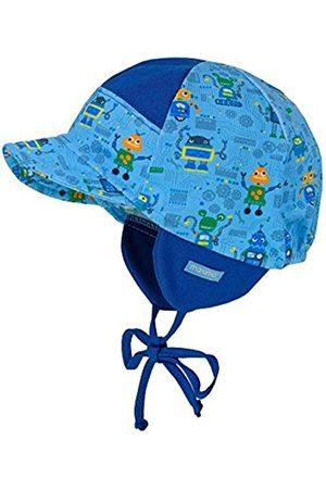 maximo Baby Boys' Schildmütze Roboter, Mit Bindeband Neckerchief, Blau (Adria-Roboter 75)
